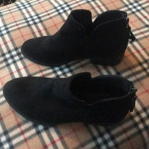 JGOODS BLACK BOOTIES